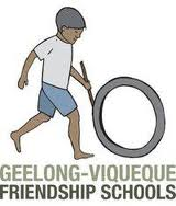 Geelong-Viqueque Friendship Schools logo