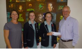Student Donation from Geelong College