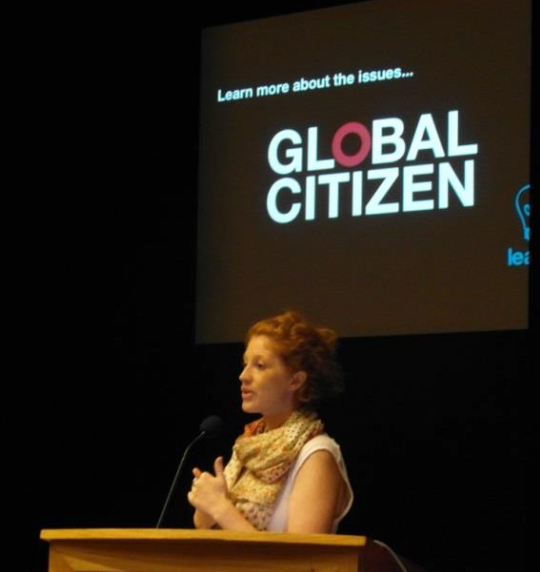 Action Against Global Poverty Speaker