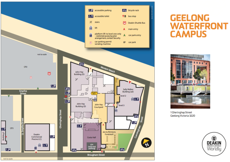 Waterfront Campus Map